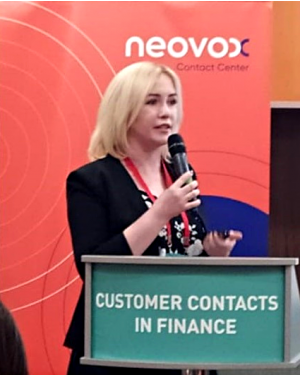 Neovox на Customer Contacts in Finance 2019